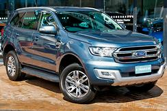 2016 Ford Everest Trend UA Auto RWD Automatic