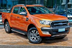 2016 Ford Ranger Wildtrak PX MkII Manual 4x4 Double Cab Manual