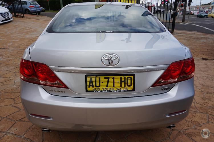 2006 Toyota Aurion AT-X Auto