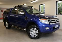 2013 Ford Ranger XLT PX Manual 4x4 Double Cab Manual