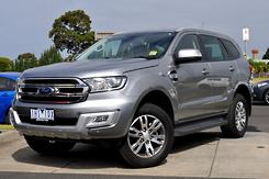 2015 Ford Everest Trend UA Auto 4WD Automatic