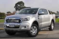 2018 Ford Ranger XLT Hi-Rider PX MkII Auto 4x2 MY18 Double Cab Automatic