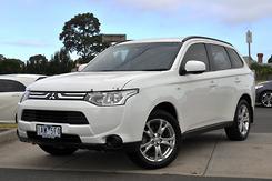 2013 Mitsubishi Outlander ES ZJ Auto 4WD MY13 Automatic