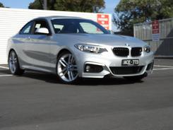 2014 BMW 220i M Sport F22 Auto Automatic
