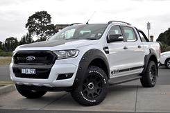 2018 Ford Ranger XLT PX MkII Auto 4x4 MY18 Double Cab Automatic