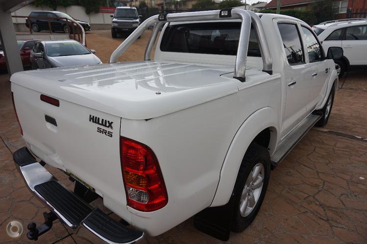 2010 Toyota Hilux SR5 Auto 4x4 MY10 Dual Cab