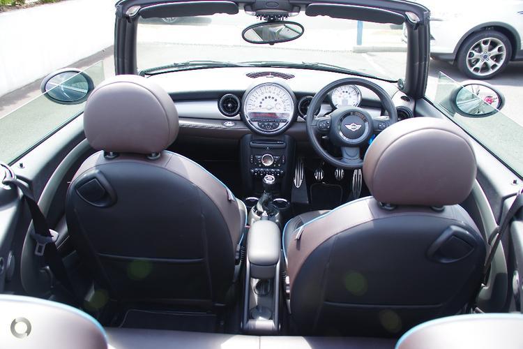 2012 MINI Cabrio Cooper S Highgate Manual
