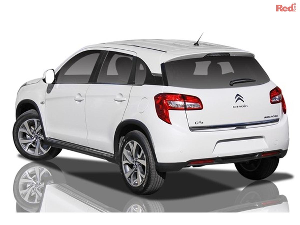 2013 citroen c4 aircross exclusive exclusive wagon 5dr cvt 6sp 4x4 feb. Black Bedroom Furniture Sets. Home Design Ideas