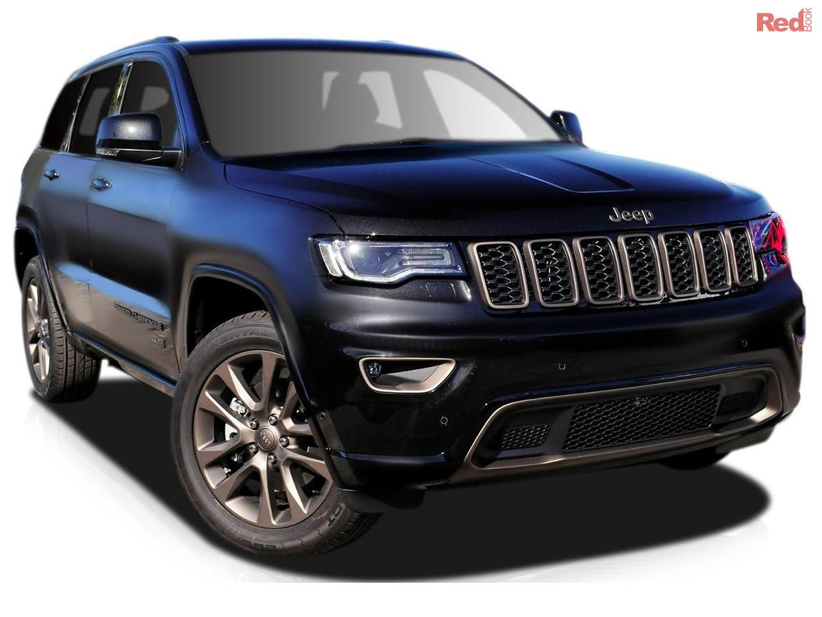 2016 jeep grand cherokee 75th anniversary wk 75th anniversary wagon 5dr spts auto 8sp 4x4. Black Bedroom Furniture Sets. Home Design Ideas