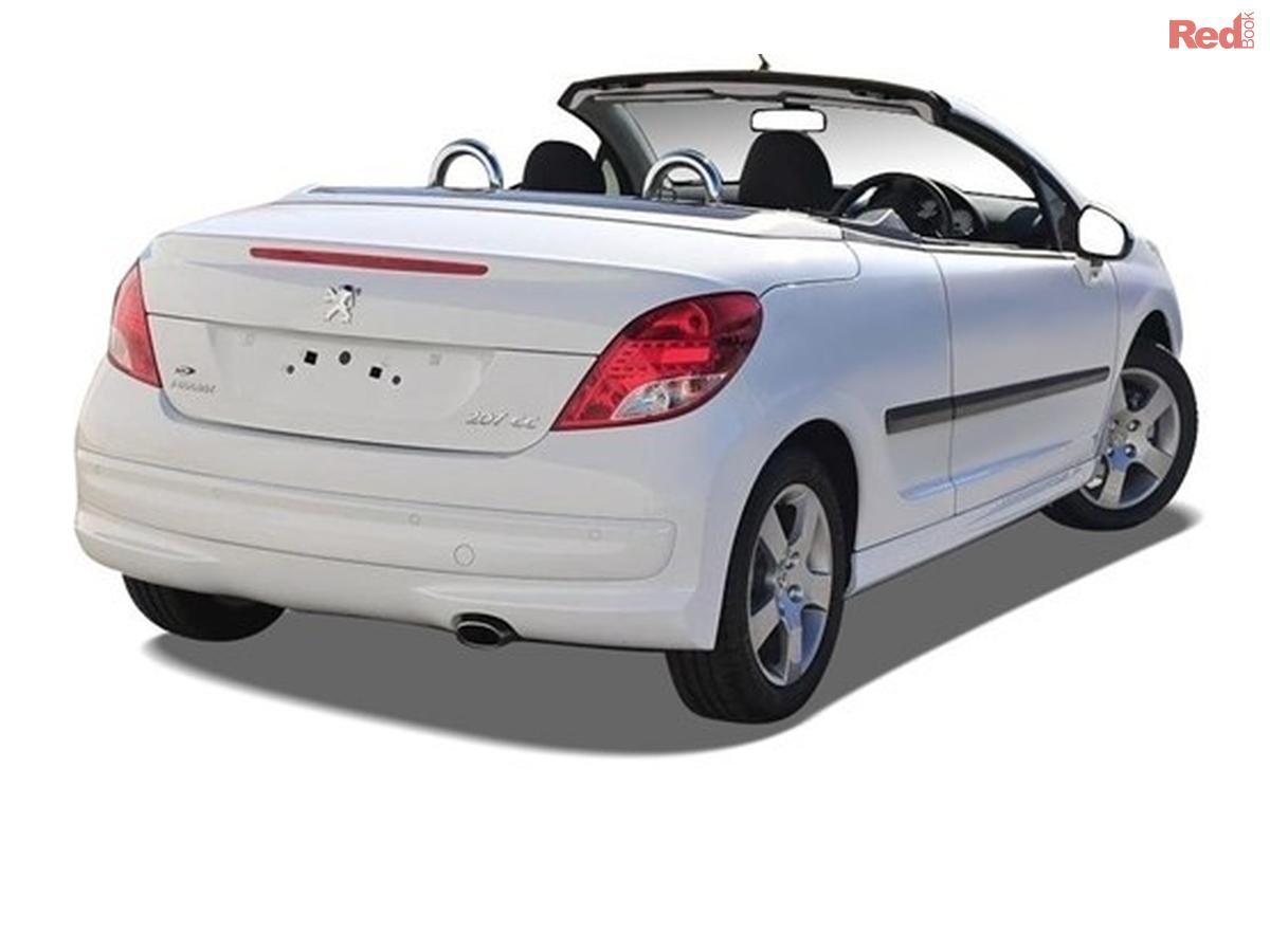 2011 peugeot 207 cc a7 series ii cc cabriolet 2dr man 5sp my10. Black Bedroom Furniture Sets. Home Design Ideas