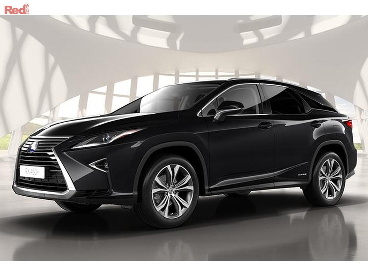 2017 lexus rx450h luxury gyl25r luxury wagon 5dr cvt 6sp 4x4 hybrid. Black Bedroom Furniture Sets. Home Design Ideas