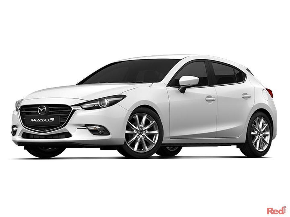 White  Mazda  Hatchback Touring Reviews