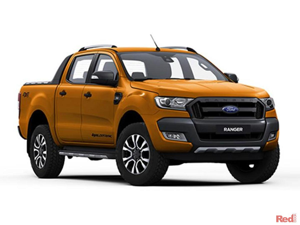 2017 ford ranger wildtrak px mkii wildtrak utility double cab 4dr spts auto 6sp 4x4 3 2dt. Black Bedroom Furniture Sets. Home Design Ideas