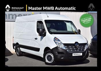 537fecf7cf 2018 Renault MASTER Medium Wheelbase Auto - Renault Approved Used