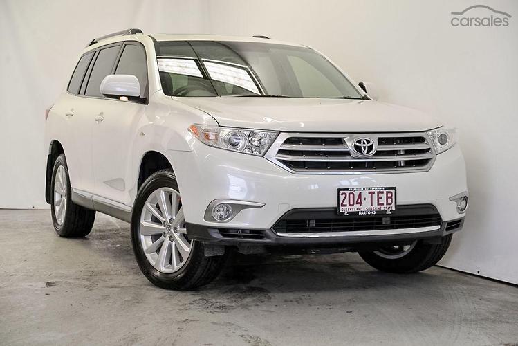 2013 Toyota Kluger Altitude