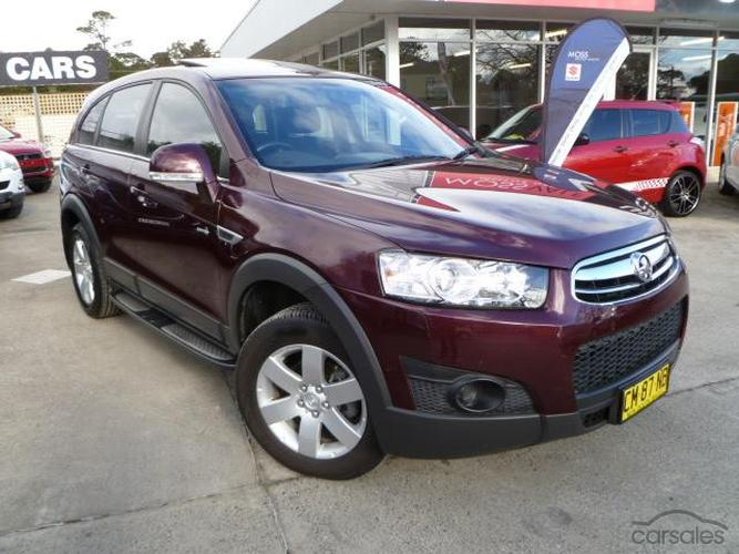 2013 Holden Captiva 7 Sx