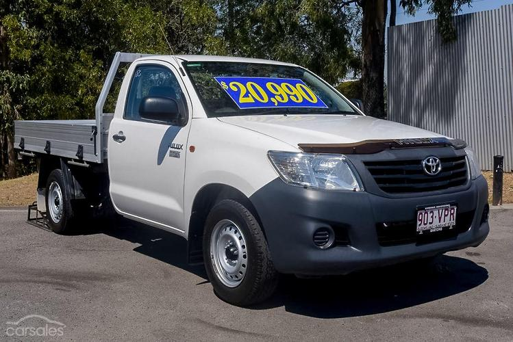 2015 Toyota Hilux Workmate