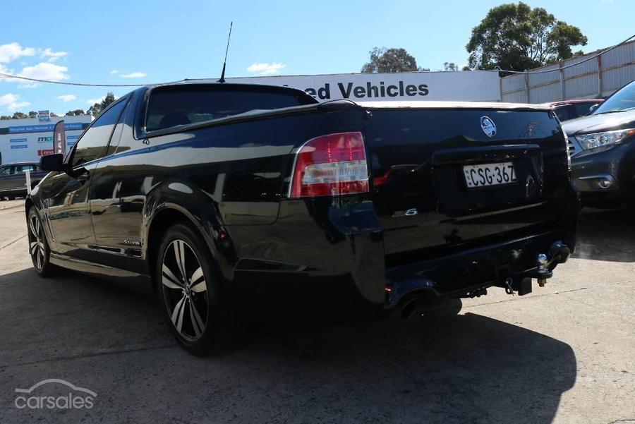 2014 Holden Ute SV6 Storm VF