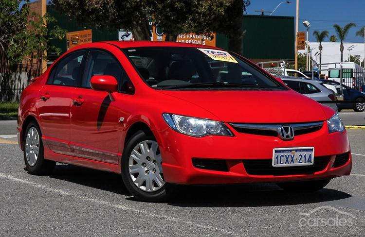 2008 Honda Civic VTi Manual MY08