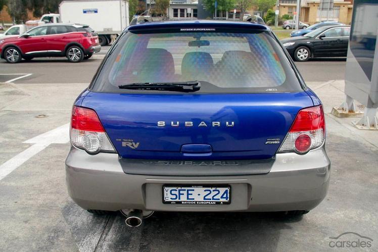 2002 Subaru Impreza RV S