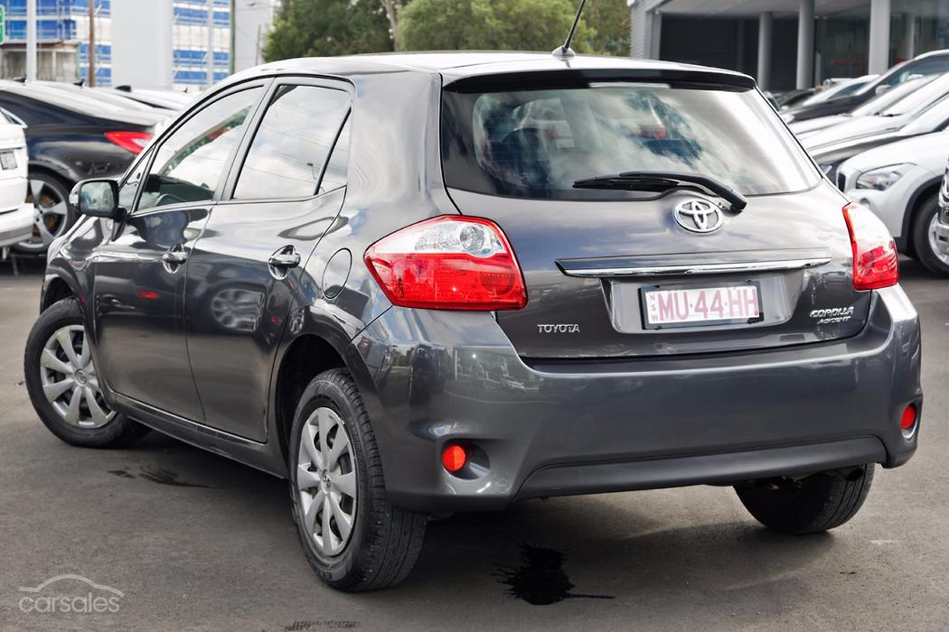new used toyota corolla cars for sale in australia. Black Bedroom Furniture Sets. Home Design Ideas