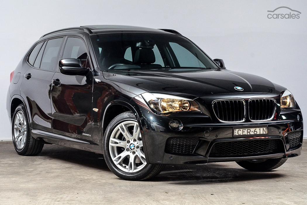 new used bmw x1 black cars for sale in australia. Black Bedroom Furniture Sets. Home Design Ideas
