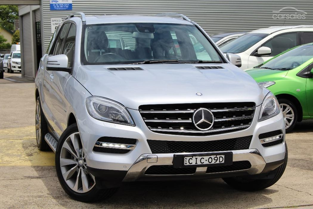 new used mercedes benz ml350 blueefficiency cars for sale in australia. Black Bedroom Furniture Sets. Home Design Ideas