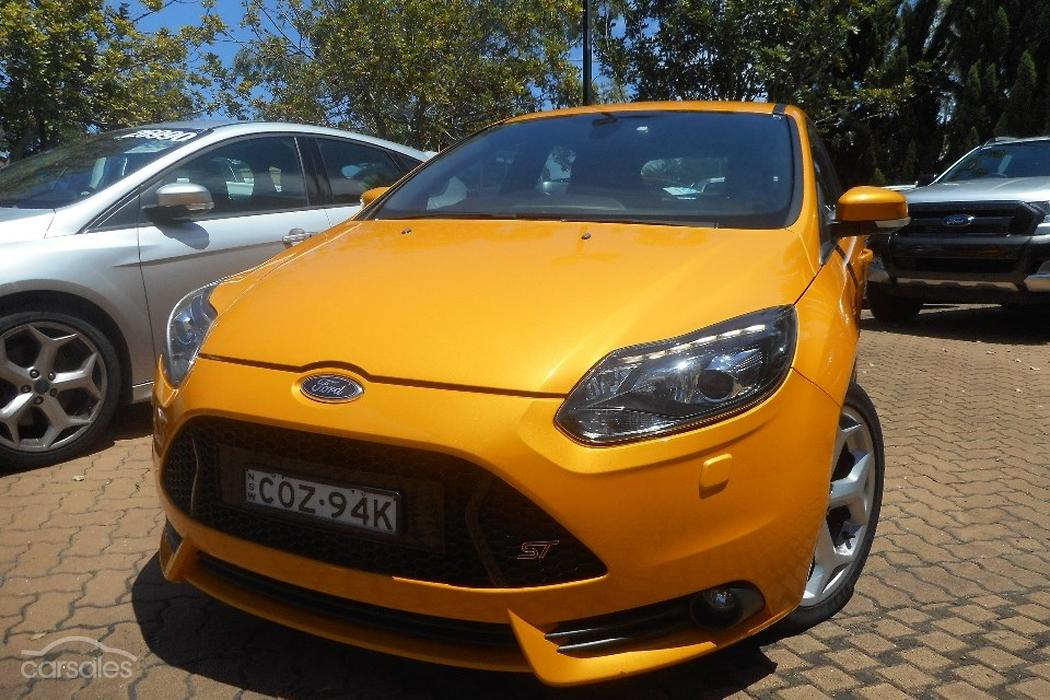 new used ford focus st lw mkii cars for sale in australia. Black Bedroom Furniture Sets. Home Design Ideas