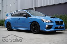 new used subaru wrx sti hyper blue cars for sale in australia. Black Bedroom Furniture Sets. Home Design Ideas