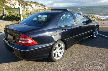 2005 mercedes benz c200 kompressor sport edition auto my05 for Mercedes benz kompressor 2005