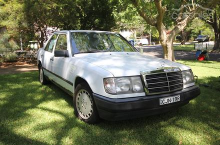 1986 mercedes benz 230e auto for Mercedes benz car payment