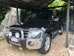 Mitsubishi NT Pajero VRX diesel - www carsales com au