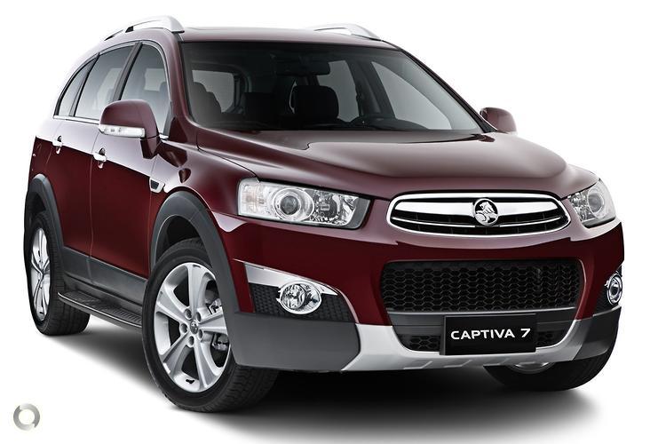 2013 Holden Captiva CG 7 LX MY13 Sports Automatic AWD