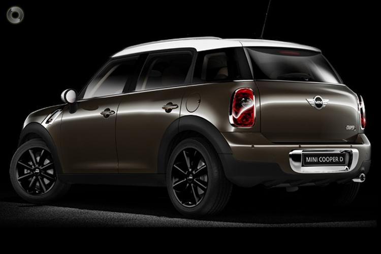 2013 MINI Countryman Cooper D Manual