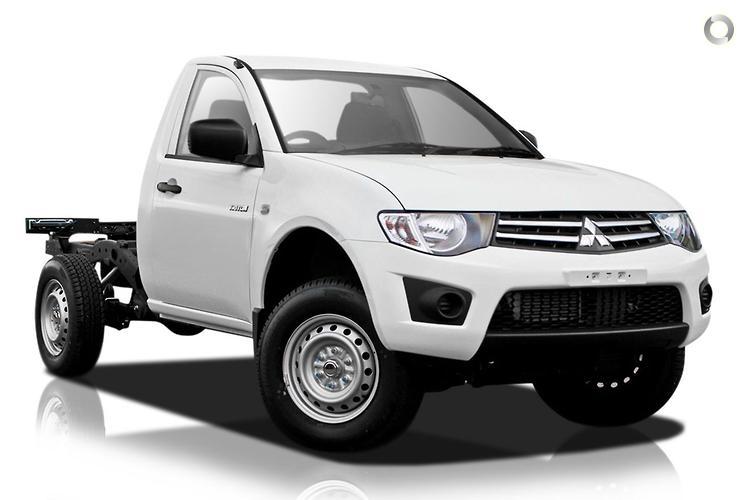 2013 Mitsubishi Triton MN GLX MY14 Sports Automatic