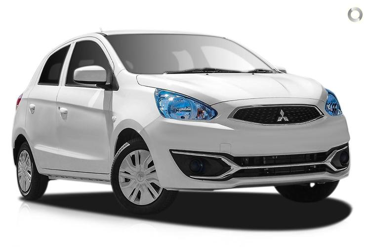 2016 Mitsubishi Mirage LA ES MY16 Constantly Variable Transmission
