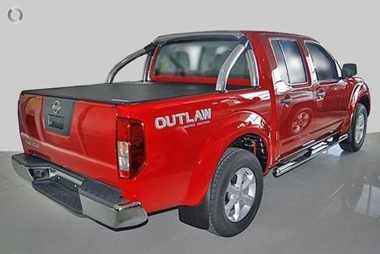 2008 Nissan Navara Outlaw D40 Manual 4x4 Dual Cab