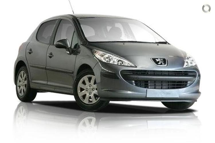 2008 Peugeot 207 A7 XR EGC Seq. Manual Auto-Single Clutch (May.)