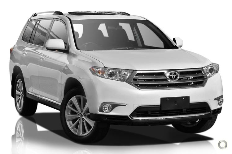 2012 Toyota Kluger GSU40R Altitude MY12 Sports Automatic 2WD