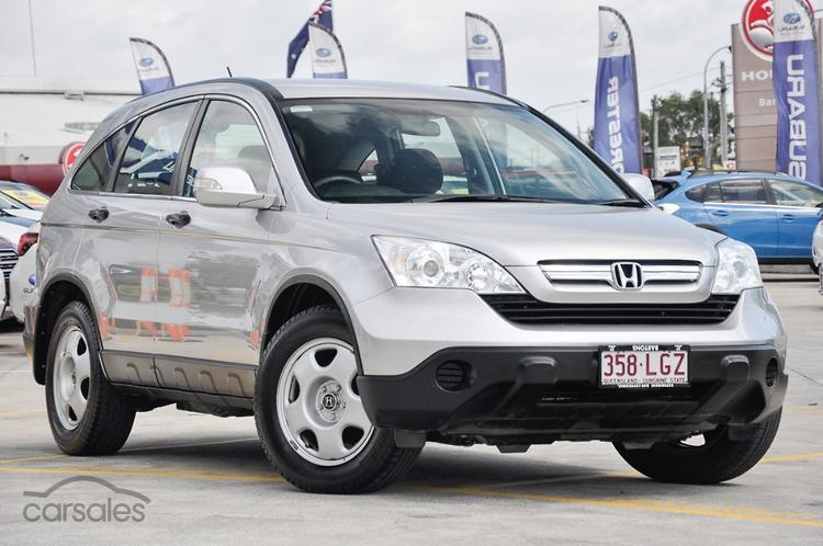 Honda CRV on demand 4WD - motoring.com.au