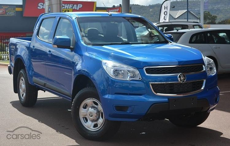 Holden Colorado Thunder Limited Edition Motoring Com Au