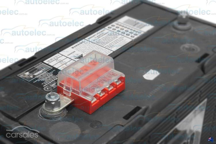 Blue Sea Battery Terminal Blade Fuse Block Bus Bar Kit