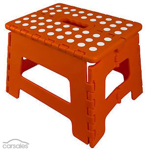 Description  sc 1 st  Partsales & EXPLORE FOLDING STEP STOOL CARAVAN RV PORTABLE PLASTIC FOLDABLE ... islam-shia.org