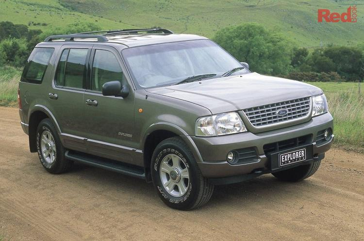 2003 Ford Explorer Limited UX MY03