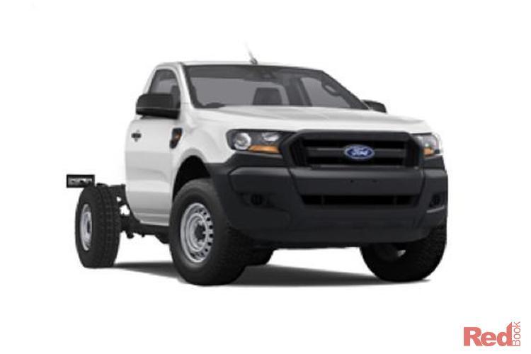 2017 Ford Ranger XL Plus PX Mkii 4X4 Dual Range