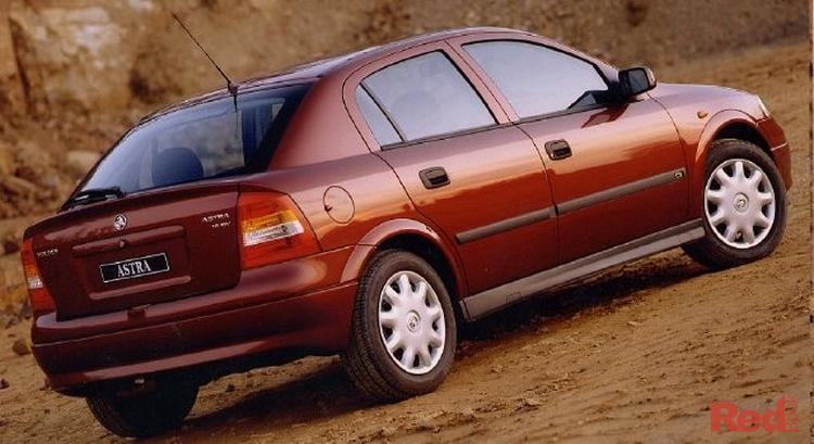 2001 Holden Astra City TS