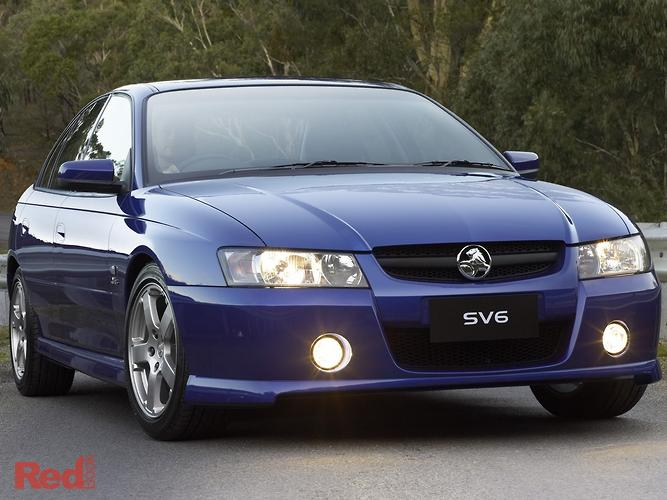 2004 Holden Commodore SV6 VZ
