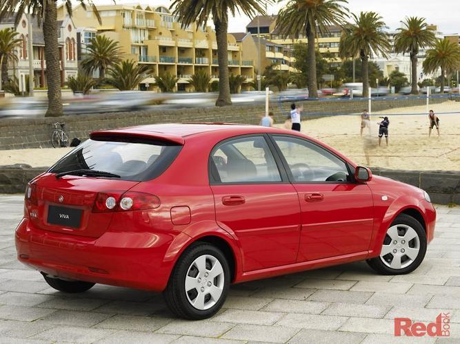 2006 Holden Viva JF