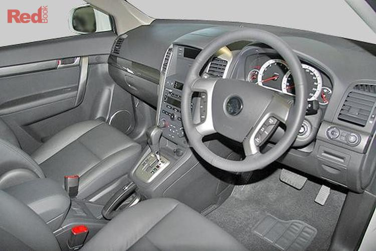 2007 Holden Captiva LX CG MY08