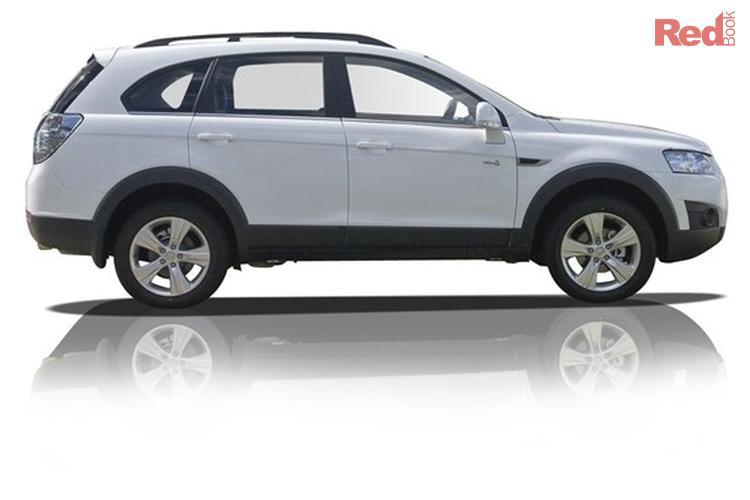 2012 Holden Captiva 7 CX CG Series II 4X4 On Demand
